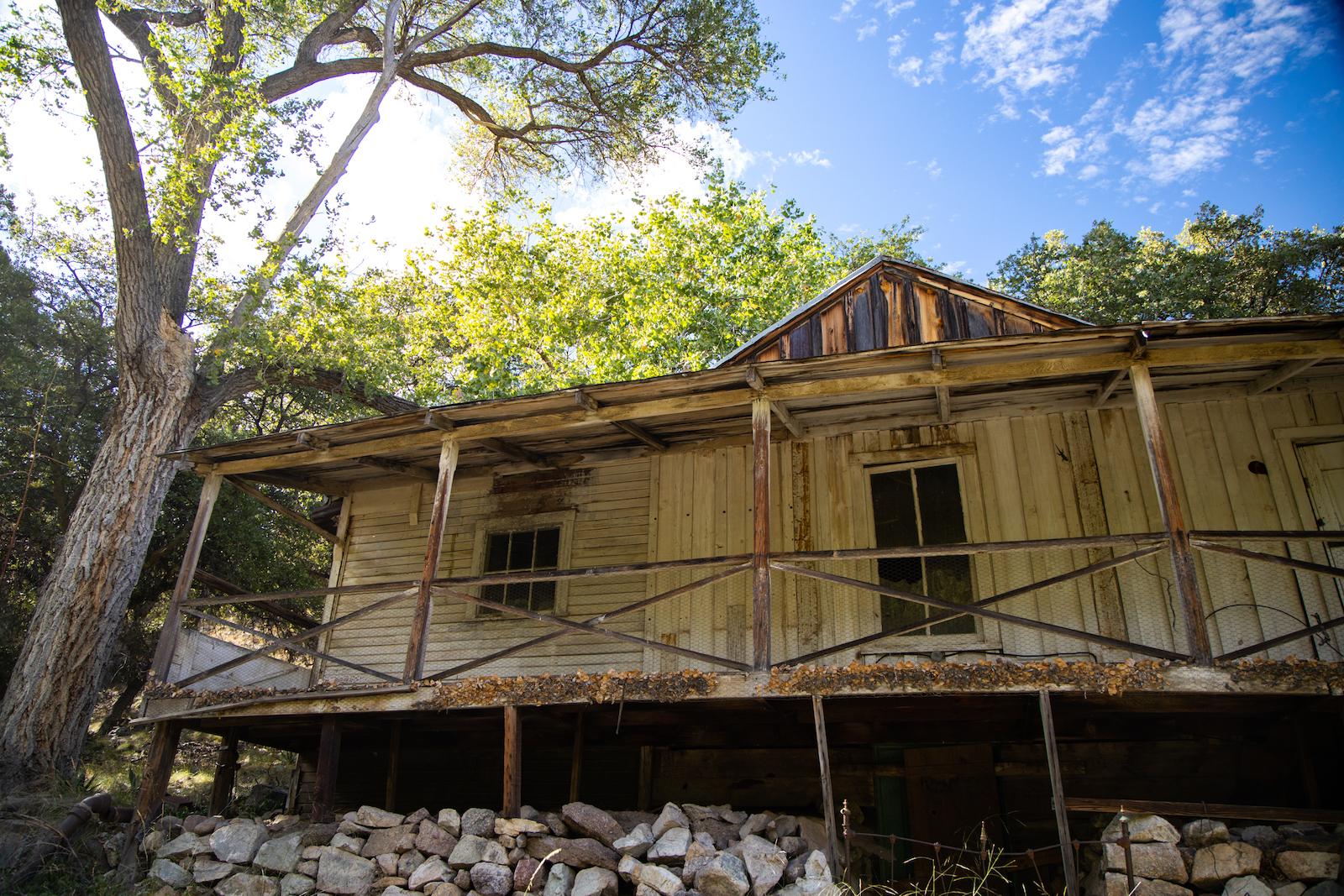Historic Buildings in Ramsey Canyon Preserve, Sierra Vista