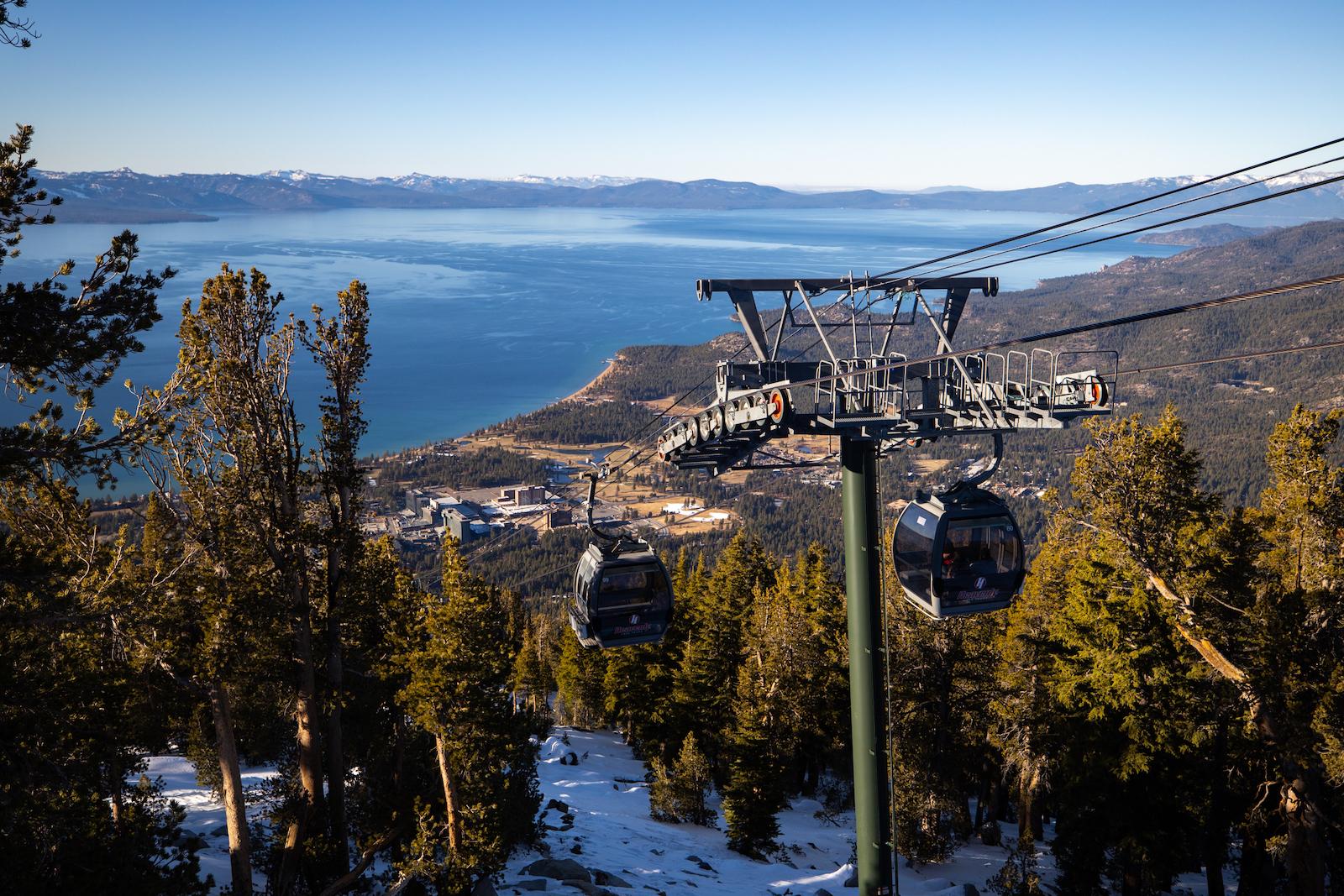 Heavenly Mountain Gondola in Tahoe