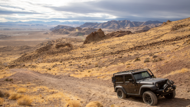 Off roading West Wendover