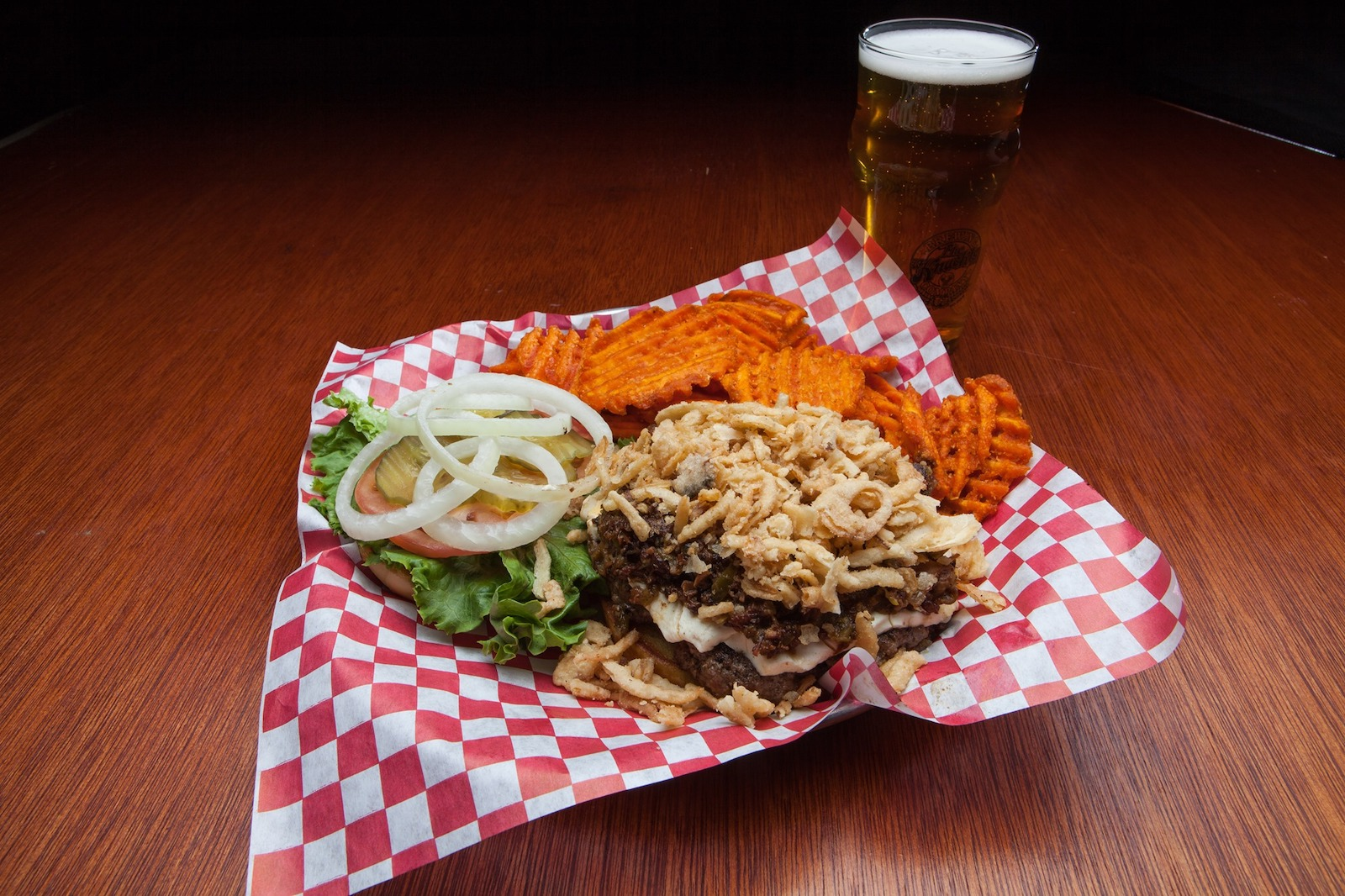 Burger and Beer in Sturgis, SD