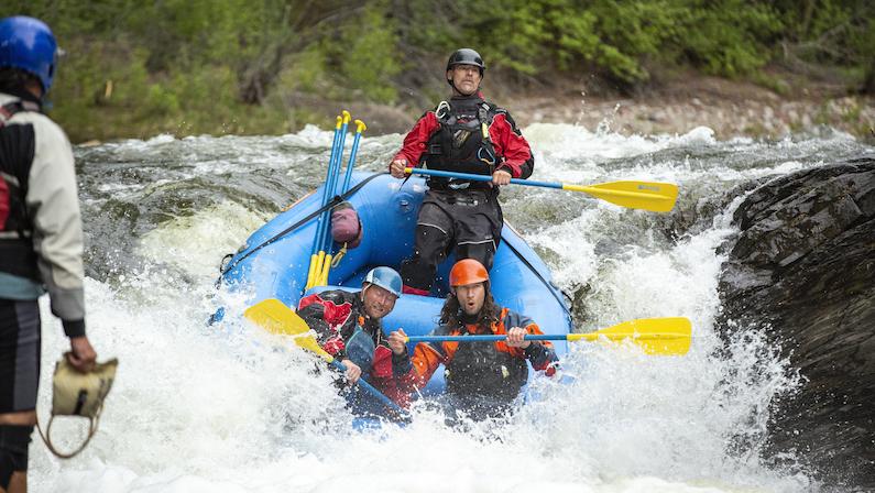 Aspen, Colorado - Rafting