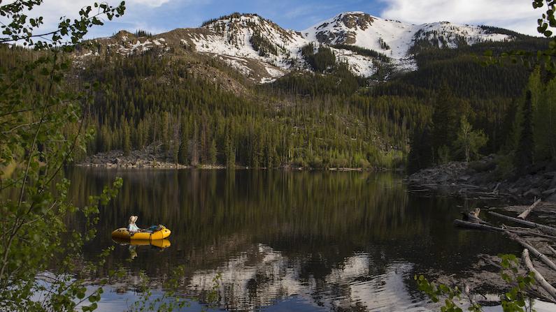 Rafter in Aspen Colorado