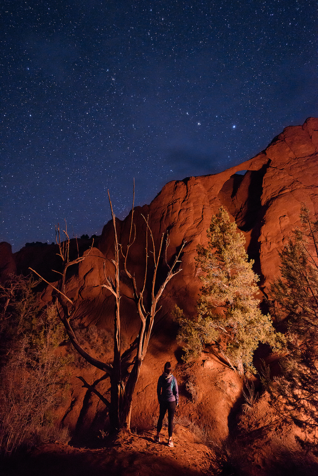 Night skies in Kodachrome Basin State Park