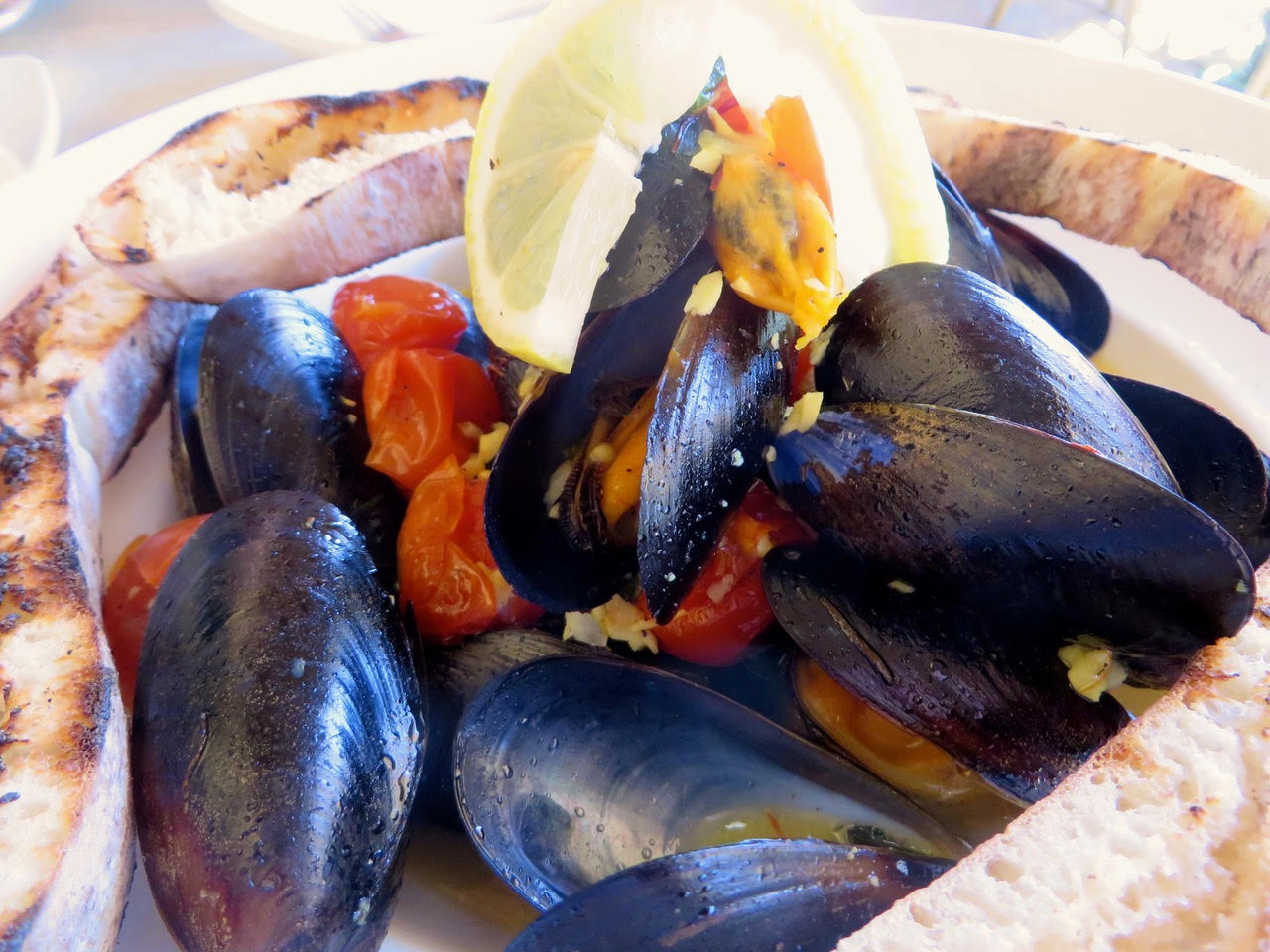 mussels dish at Tandem in Sierra Vista