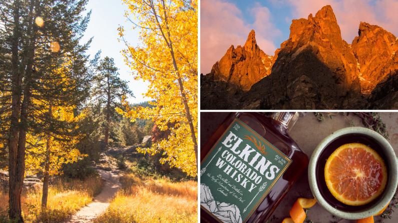 Fall in Estes Park, Colorado