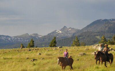 Paddle & Saddle near Yellowstone National Park