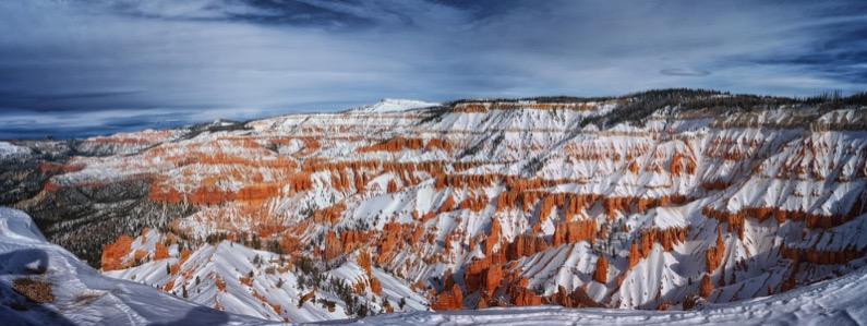 Cedar Breaks National Monument Winter