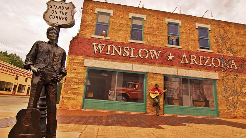 Winslow, Arizona is a Hidden Gem