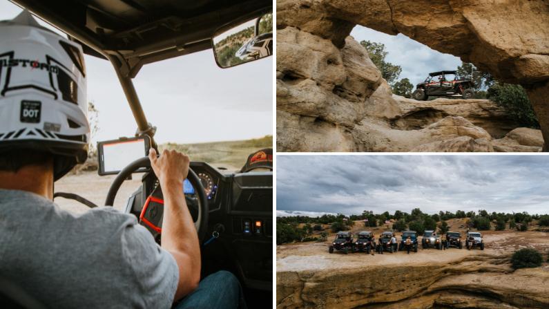 Off-roading in Farmington, New Mexico
