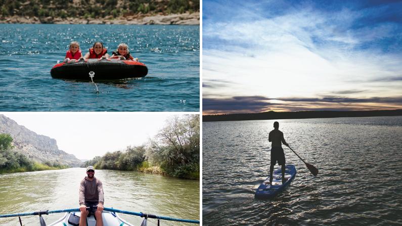 Water sports in Farmington, New Mexico