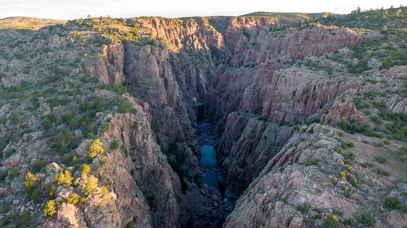 Fremont Canyon near Casper, Wyoming