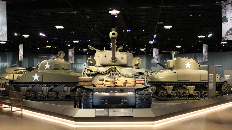 Museum of Military Vehicles near Dubois, Wyoming's Wind River Country