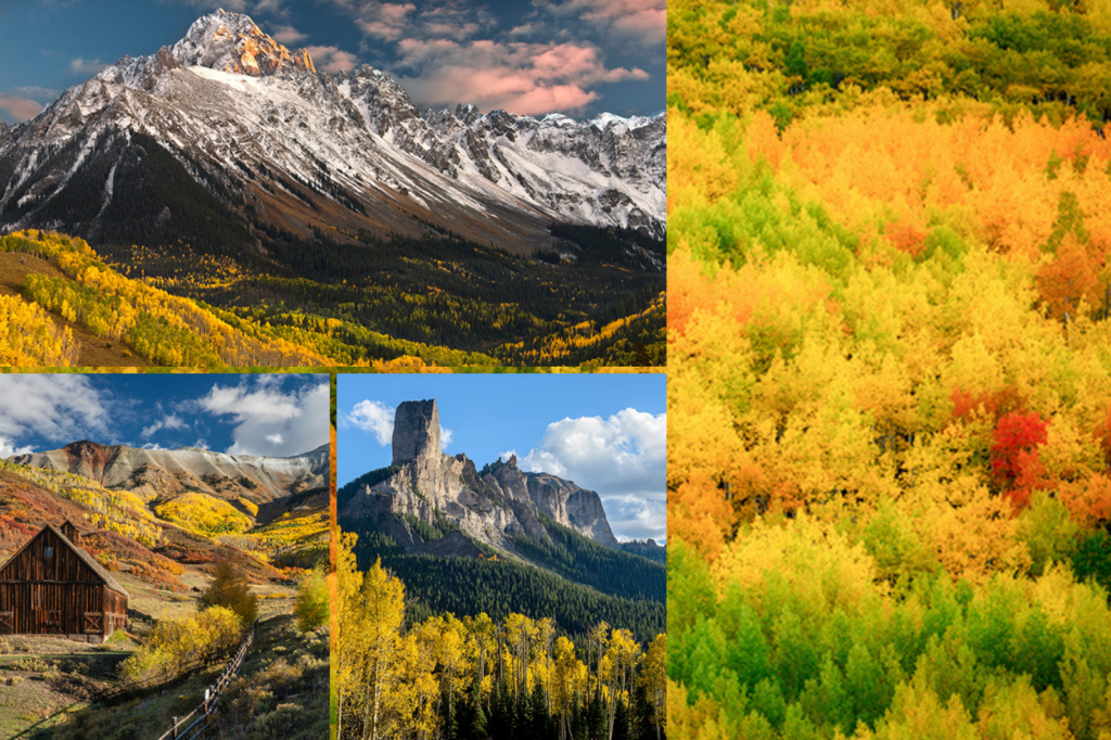 Fall foliage on the Inns of the San Juan Skyway route