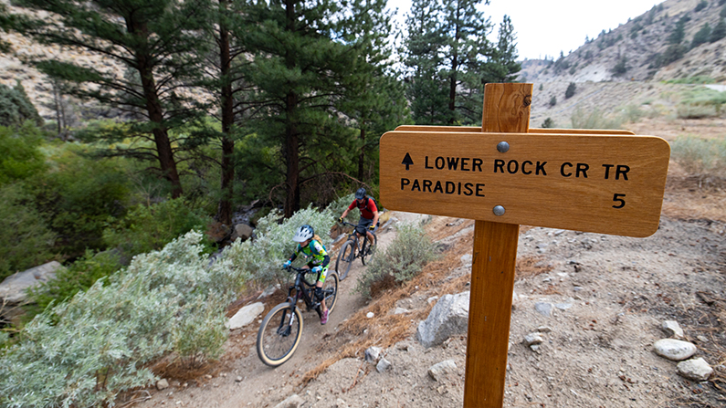 Mountain Biking Lower Rock Creek
