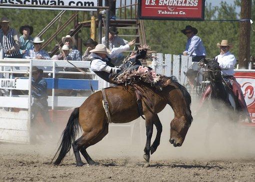 Rodeo in Oakdale, California