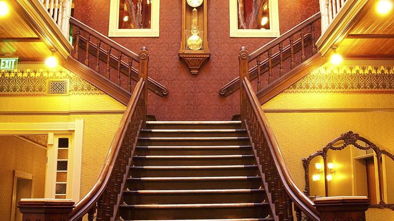 Stairway in Beaumont, of the Inns of the San Juan Skyway